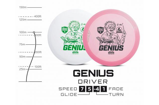 Diskgolfo diskas DISCMANIA Fairway Driver GENIUS