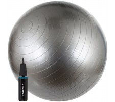 Gimnastikos kamuolys AVENTO 42OD-SLV 65 cm + pompa