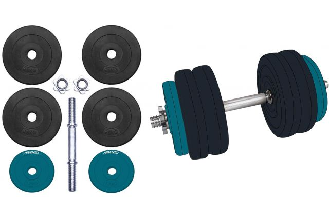 Keičiamo svorio hantelis AVENTO 42DF 15 kg