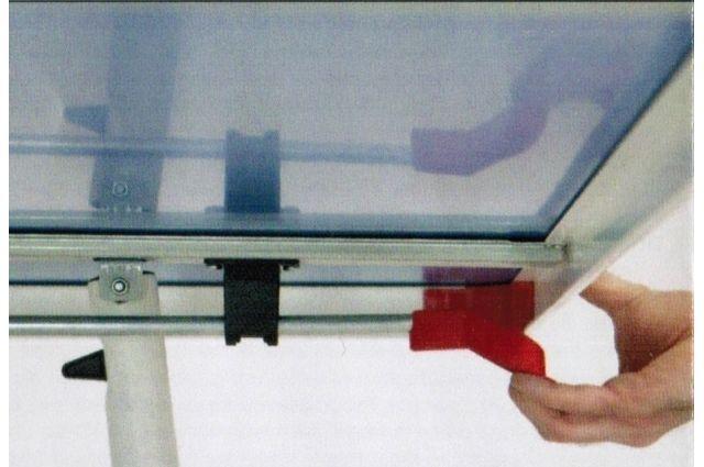 Tennis table GARLANDO CHALLENGE Indoor 16mm, Tennis table GARLANDO CHALLENGE Indoor 16mm