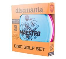 Diskgolfo diskų rinkinys DISCMANIA Active 3 DisckSet