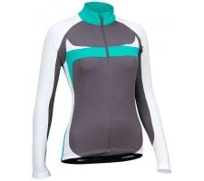 Moteriški marškinėliai dviratininkam AVENTO 81BR AWT