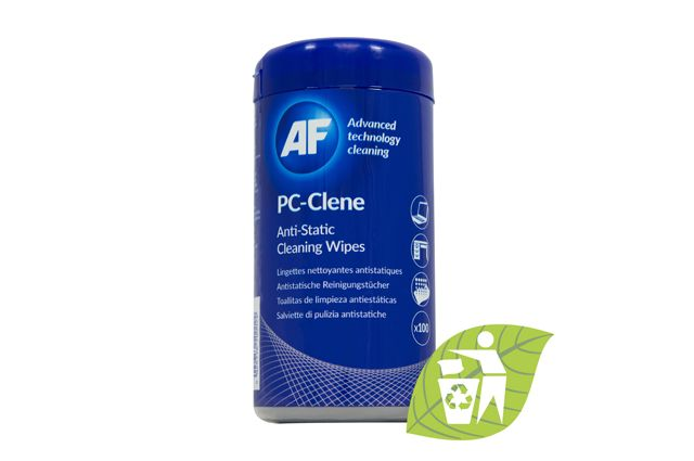 Wipes ECO PC-Clene universal for working space 100psc AF, Wipes ECO PC-Clene universal for working space 100psc AF