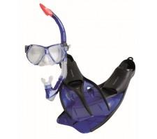 RUCANOR Diving set Insula 35/37 blue