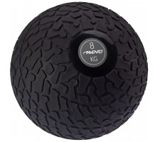 Slam ball AVENTO 42DK 8kg D23cm Black/grey