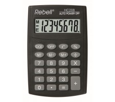 Calculator pocket Rebell HC208