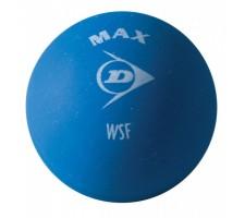 Skvošo kamuoliukai DUNLOP MAX 1 blue dot