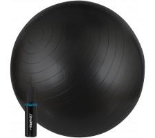 Gimnastikos kamuolys AVENTO 42OD-BLK 65 cm + pompa