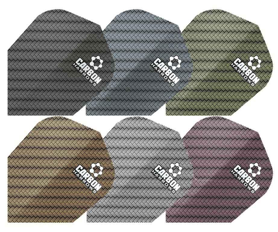 Strėlyčių sparneliai HARROWS Carbon