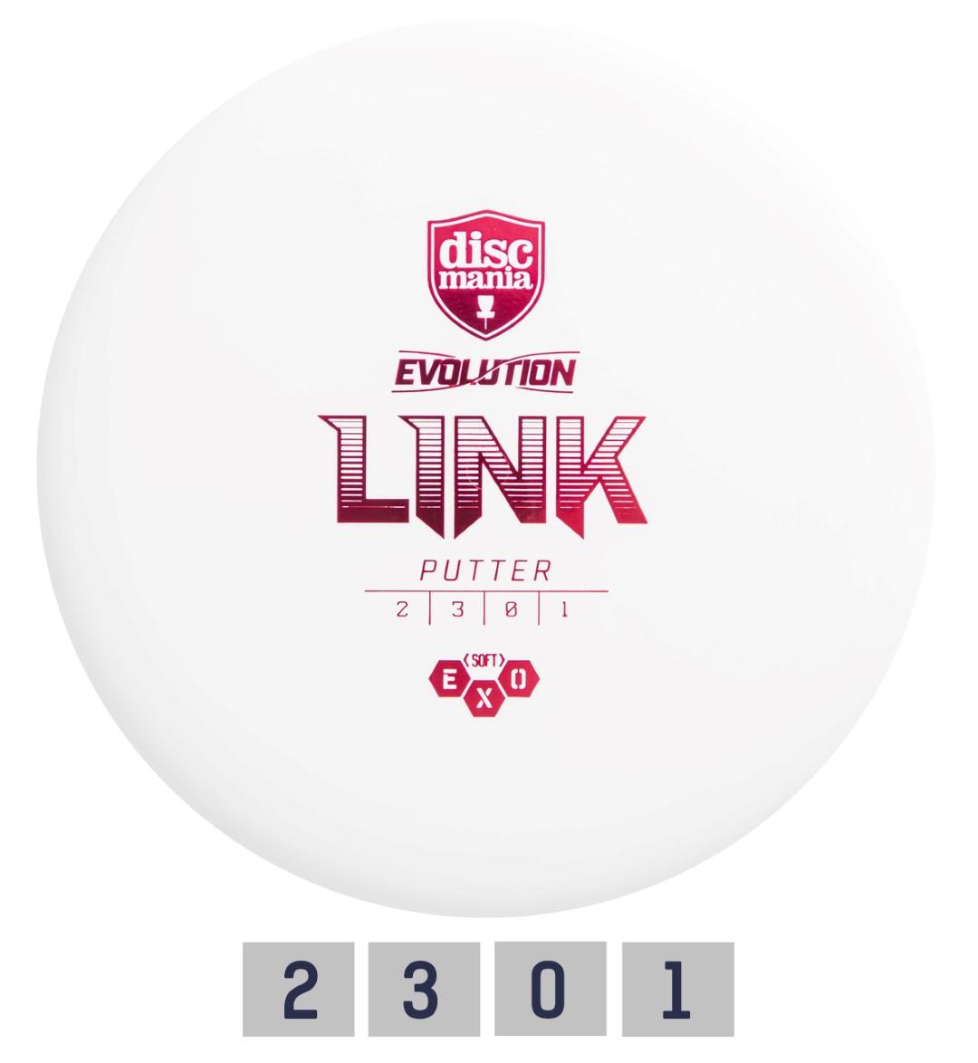 Diskgolfo diskas DISCMANIA Putter SOFT EXO LINK
