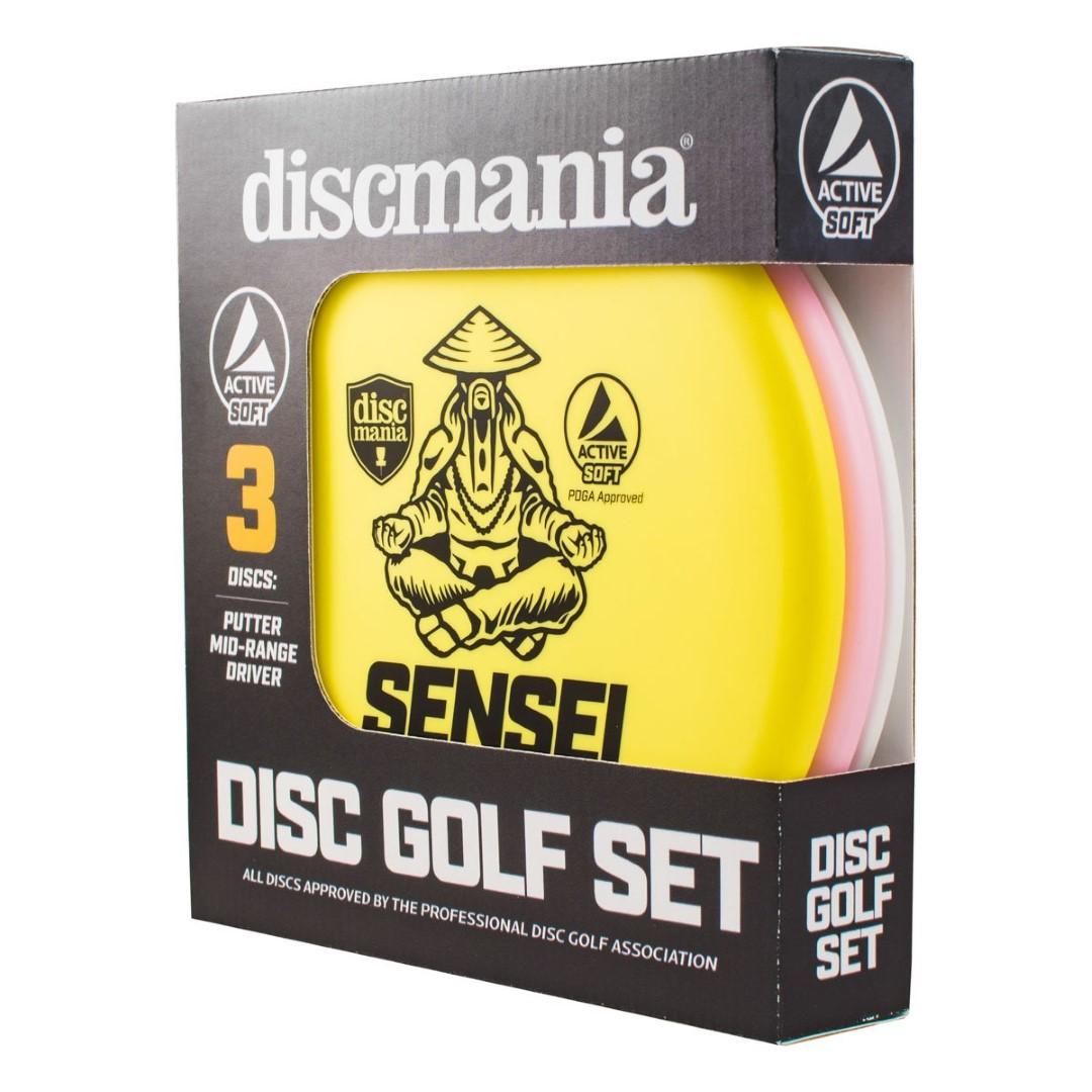Diskgolfo diskų rinkinys DISCMANIA Active 3 Soft DisckSet